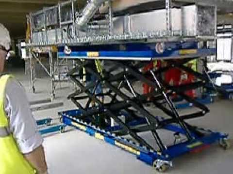 Bespoke scissor lift tables youtube greentooth Image collections