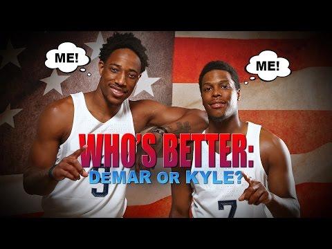 Kyle Lowry Plays: 'Who's Better?'