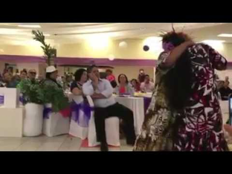 Cook island action dance