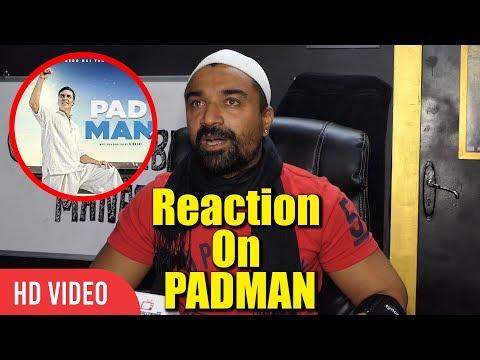 Ajaz Khan Reaction On Padman And Padman Challenge  Akshay Kumar, Sonam Kapoor, Radhika Apte