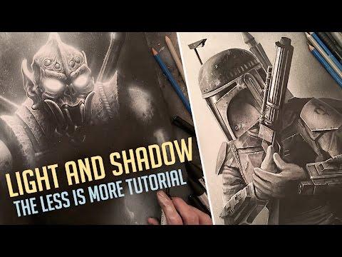 LIGHT AND SHADOW  - ART DYNAMICS TUTORIAL