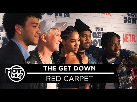 """""""The Get Down"""" Cast Is Back, Speaks on the Birth of Hip Hop"""