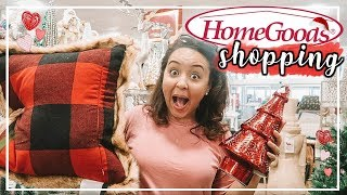 HOMEGOODS SHOP WITH ME 2018 | SHOPPING FOR CHRISTMAS DECOR AT HOMEGOODS! | Page Danielle