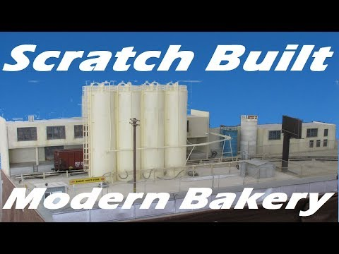 Scratch Build a Modern Bakery Complex