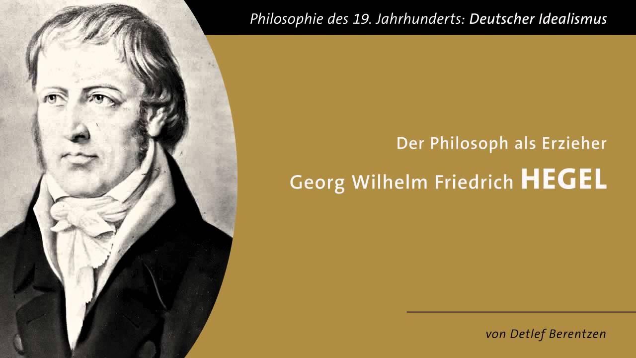 Philosoph Hegel