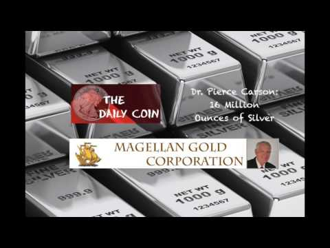 Dr.Pierce Carson: 16 Million Ounces of Silver