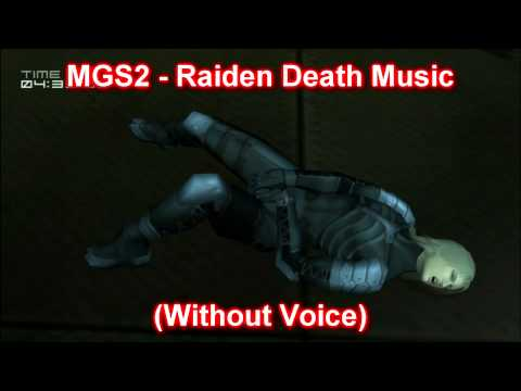 Metal Gear Solid 2: Sons Of Liberty - Game Over Music / Raiden (No Voice)