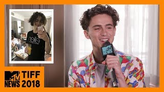 Timothée Chalamet 📸 What Were You Thinking? | MTV News