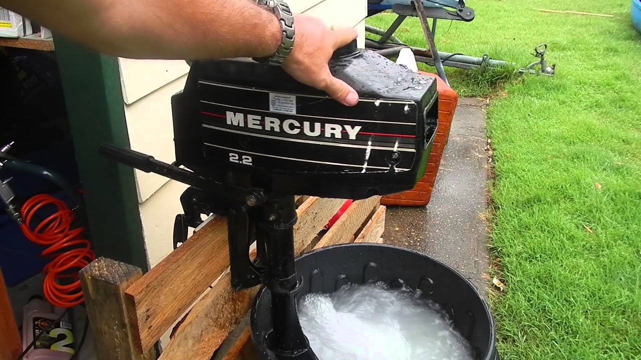 mercury 2 2hp blocked tell tale(to be fitted to canoe)