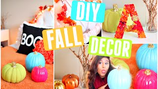 Make Your Room Cozy For Fall! | Easy Diy Fall Room Decor! 2015