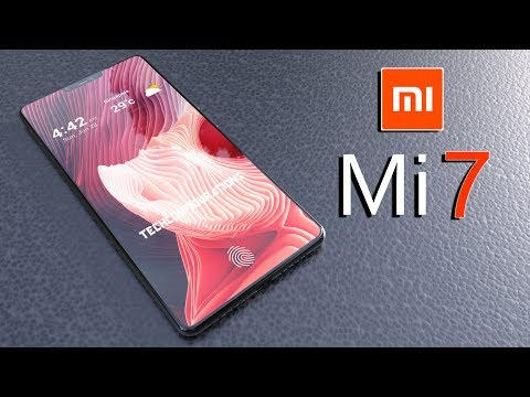 Mi 7(Mi 8) Introduction Concept,Based on the Latest Leaks with Notch Design