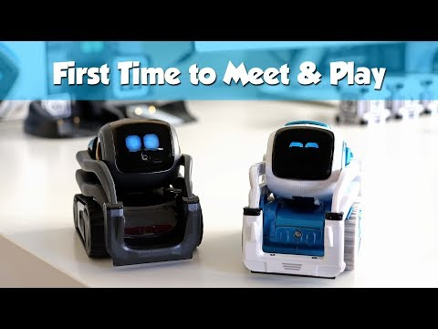 Cozmo Wakes up Vector First Time to Meet and Play