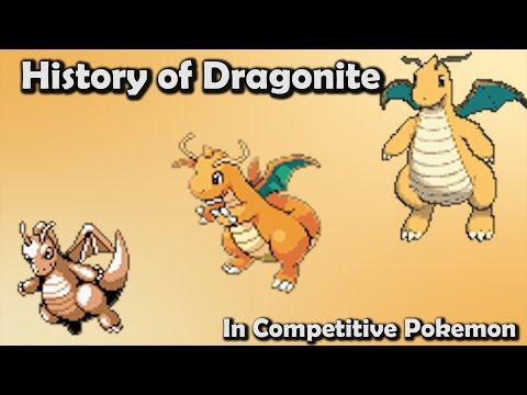 How GOOD was Dragonite ACTUALLY? - History of Dragonite in Competitive Pokemon (Gen 1-6)