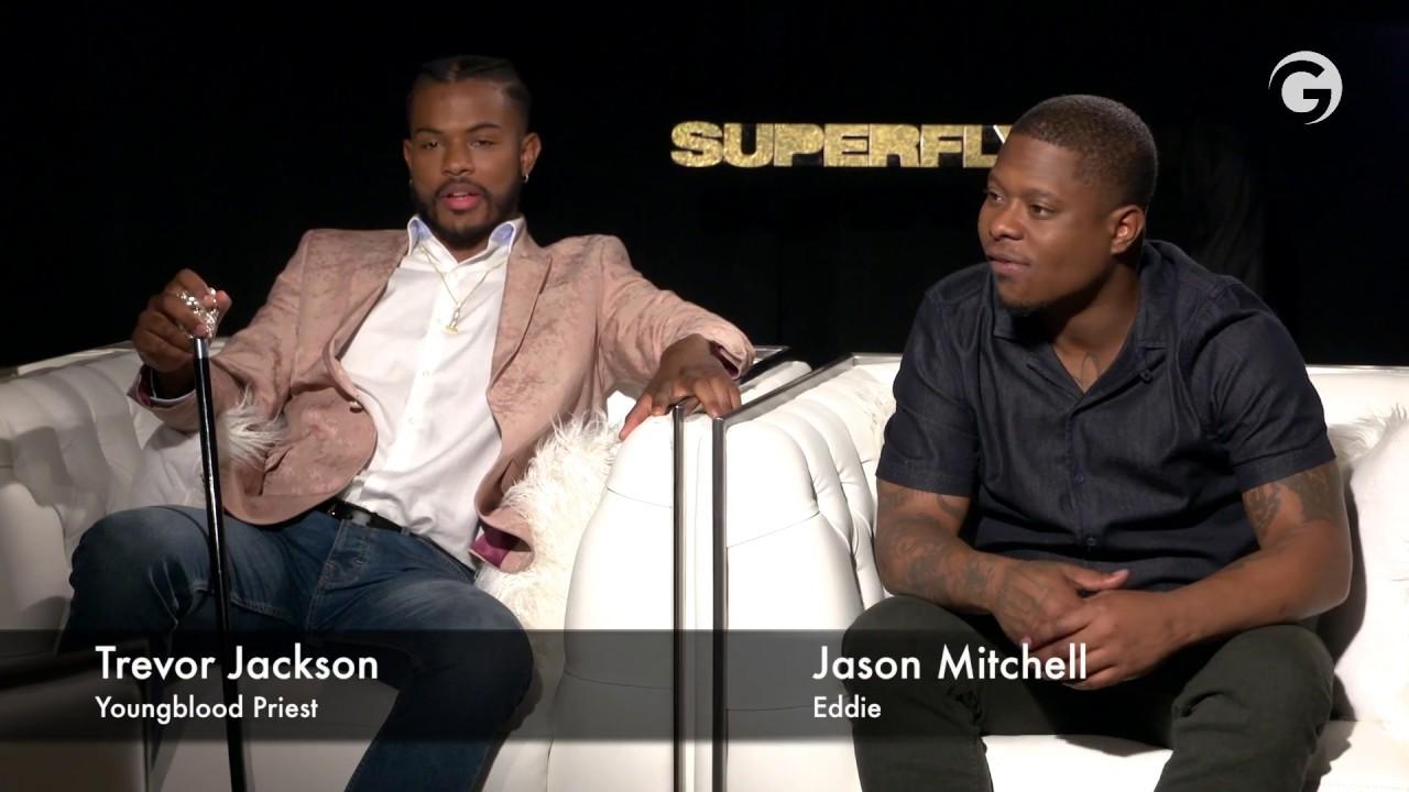 da7104c4274 Superfly Interview  Trevor Jackson   Jason Mitchell - YouTube