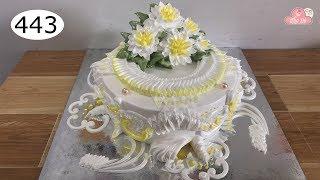 chocolate cake decorating bettercreme vanilla (443) Học Làm Bánh Kem Đơn Giản Đẹp - Qúa Đẹp (443)