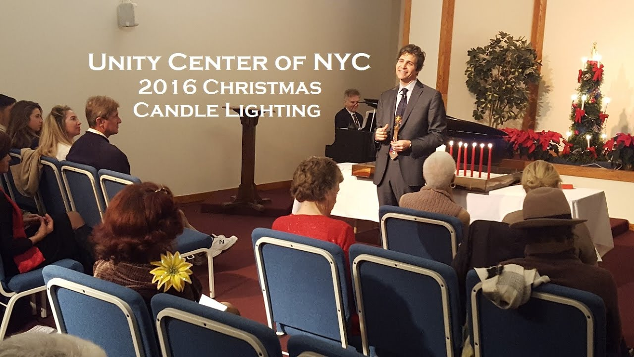 Unity Center Of NYC 2016 Christmas Candle Lighting Ceremony