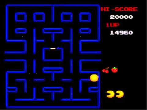 SpielPrinzip Die Steuerung der PacMan Spielfigur ist voll und ganz auf einen altmodischen Controller ausgelegt Bei dieser Version wird der fressende Puck mit den Pfeiltasten der Tastatur durch das Labyrinth gelenkt