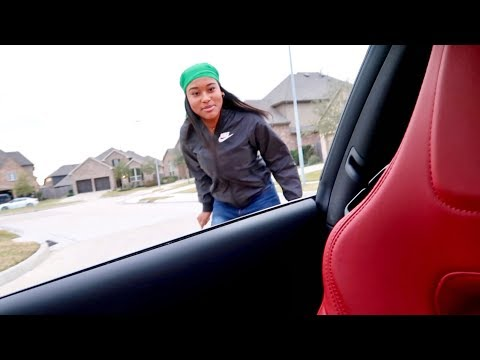 KICKING MY GIRLFRIEND OUT THE CAR PRANK!!!