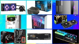 RAKIT PC INTEL CORE I7 8700K + NVIDIA RTX 2080 30JUTA GILAA!!