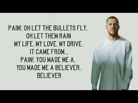 Believer - Imagine Dragons Lyrics