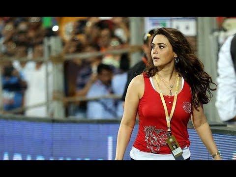 sexy preity zinta during match delhi vs Punjab IPL 2018 thumbnail