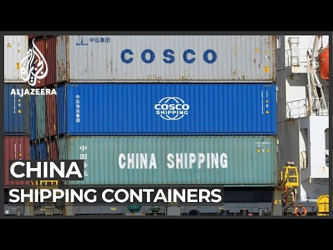 Global shipping crisis: China ramps up container production