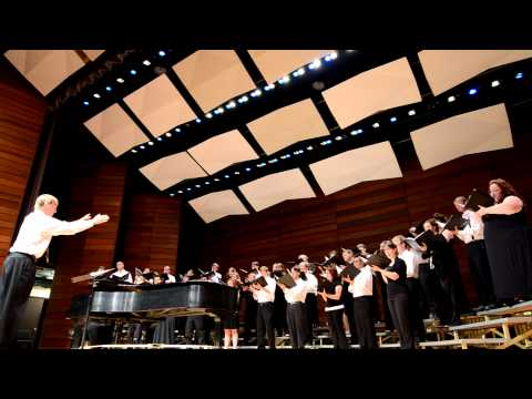 "SOU Chamber Choir performs ""Sure on this Shining Night"" by Morten lauridsen"
