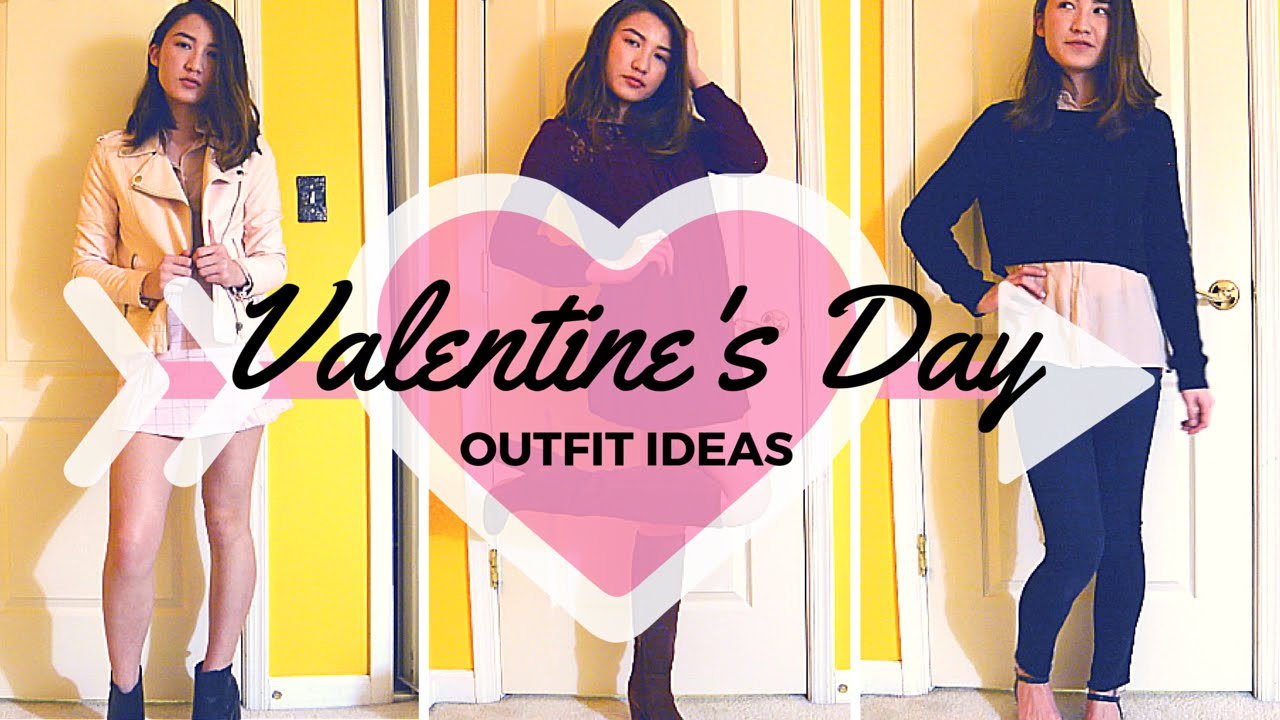 e722a9a00 Valentine s Day Outfit Ideas 2016 ♡ 3 Valentine s Inspired Outfits ...