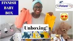FINNISH BABY BOX: Unboxing 2019 Finnish Baby Box!