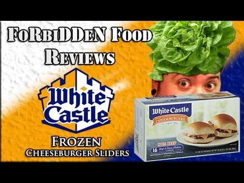 """White Castle's """"Frozen Cheeseburger Sliders"""" – Food Review!"""