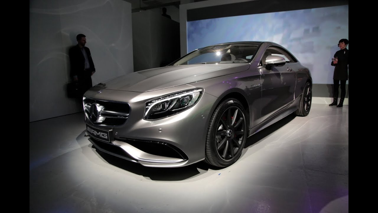 2015 Mercedes S63 AMG Coupe  2014 New York Auto Show  YouTube