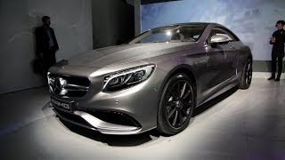2015 Mercedes S63 AMG Coupe - 2014 New York Auto Show