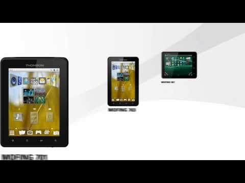 Thomson eBook Reader & Electronic Tablets