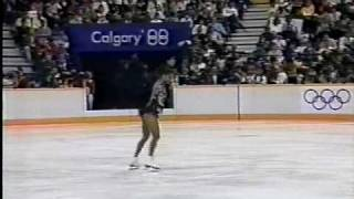 Debi Thomas (USA) - 1988 Calgary, Ladies' Long Program thumbnail