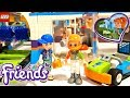 Lego Friends Spinning Brushes Car Wash Buiding Review 41350