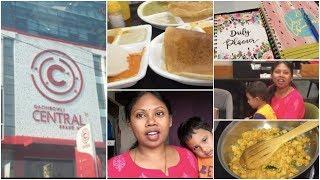Saturday full day vlog || offline shopping || Family time || Trying myhappinesz recipe || Sireesha