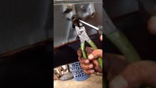 350 chevy small block freeze plug install