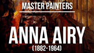 Anna Airy (1882-1964) A collection of paintings 4K Ultra HD