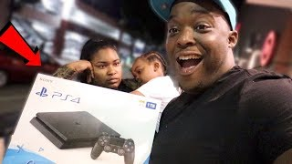 I MADE BRITTANY AND WOO WOP BUY ME A NEW PS4 !!! ( you break it you buy it LMFAO )