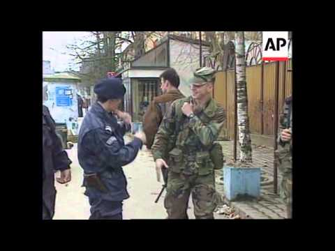 Bosnia - Tension runs high