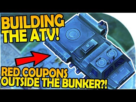 BUILDING the ATV - RED COUPONS OUTSIDE THE BUNKER?! - Last Day on Earth Survival Update 1.5.6