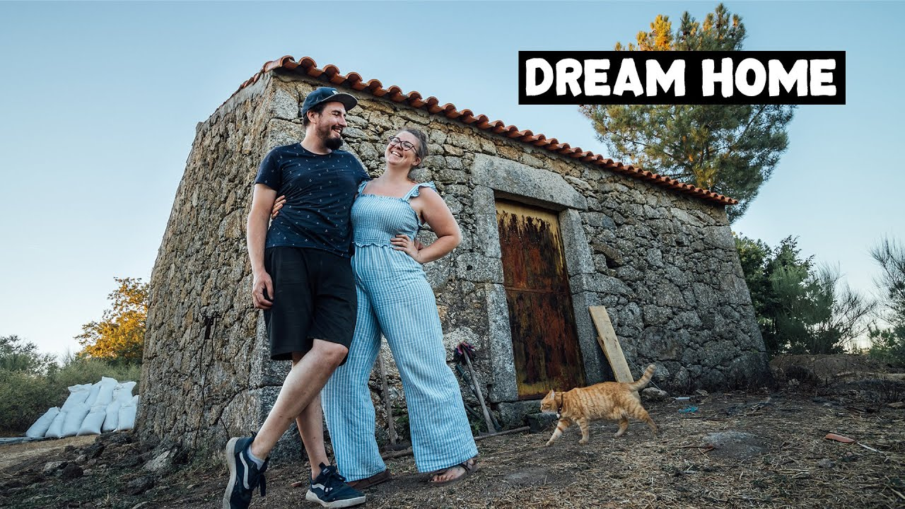 100 Year Old Abandoned Barn Conversion   Tiny House Plans for Portuguese Homestead!