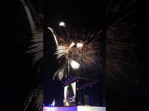 Fireworks at Doha