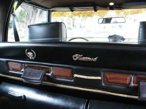 1976 Cadillac Limousine Exterior And Interior Youtube