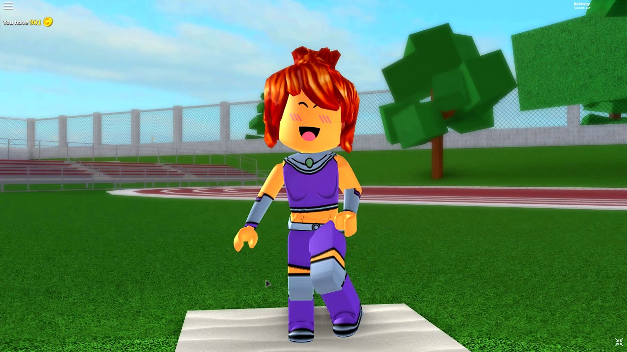 HOW TO BE STARFIRE IN ROBLOXIAN HIGHSCHOOL!!