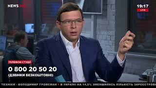 Евгений Мураев в «Большом вечере» на телеканале NewsOne, 18.10.17