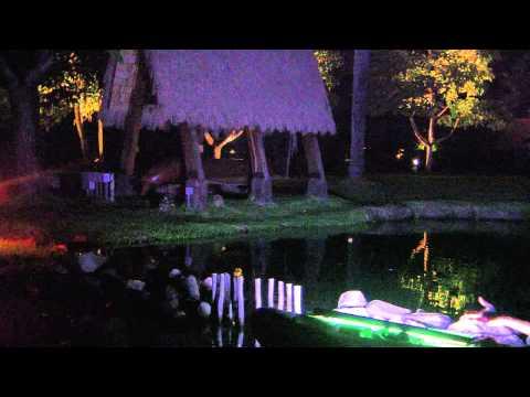 Night SUP at Polynesian Cultural Center