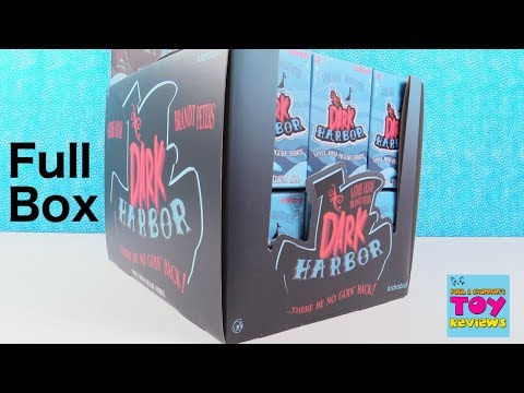 Dark Harbor Kidrobot Vinyl Figures Blind Box Unboxing Review | PSToyReviews
