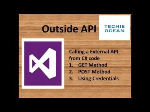 How To Call External API In C#