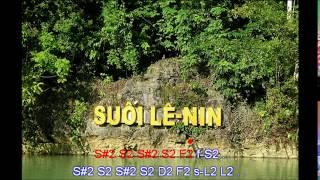 [Tiếng hát giữa rừng Pác Bó ]- Karaoke Beat Cảm Âm Sáo Trúc C5